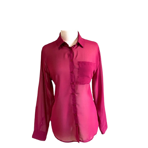 RD Style Button Down Blouse