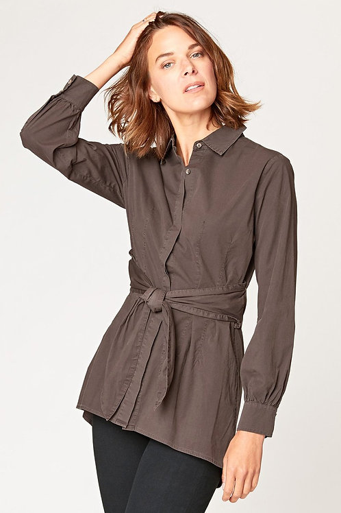XCVI Siuslaw Removable Tie Blouse