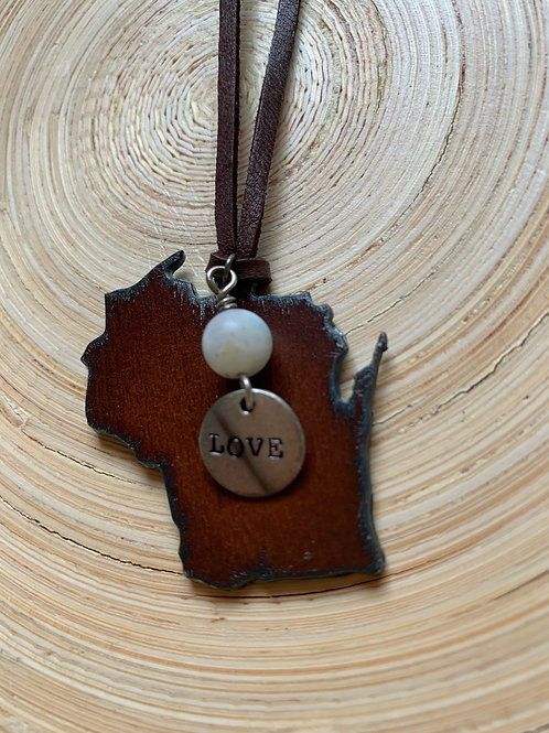 Wisconsin Charm - Love by Janet Sanda