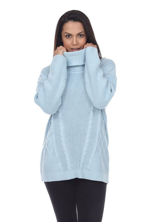 Neon Buddha Magic Moments Pullover in Cloud Blue