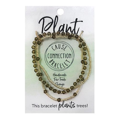 """Plant"" Cause Bracelet"