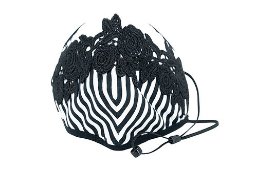 A Lace Touch Mask