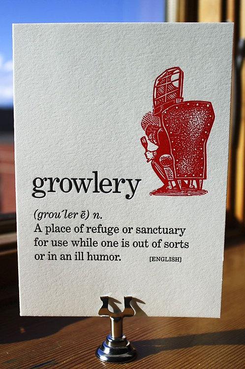 Kenspeckle Letterpress Cards - Growerly