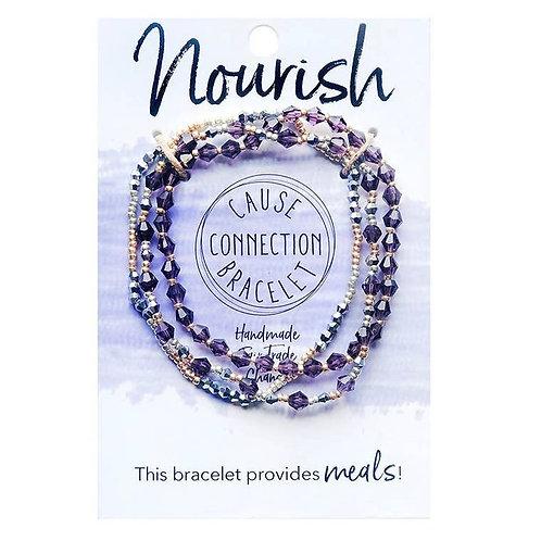 """Nourish"" Cause Bracelet"