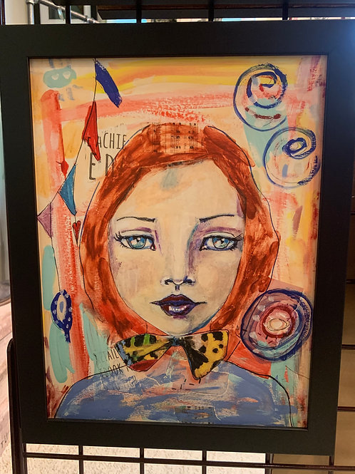 Wendy Barringer Art -Portrait #1