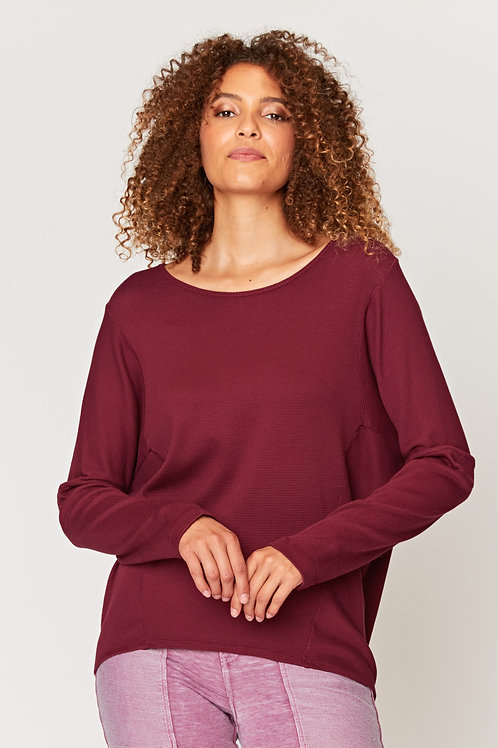 Wearables Abelina Pullover in Rhododendron