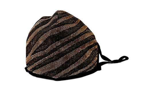Luxe Zebra Mask