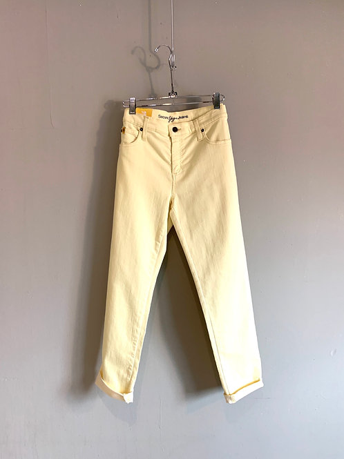 Second Clothing Yoga Jeans in Lemonade