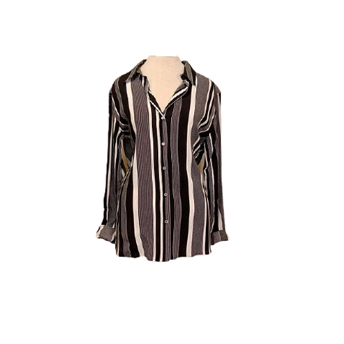 Esqualo Striped Button-up
