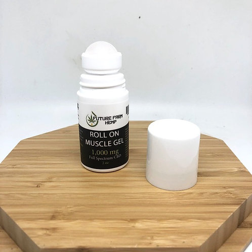 Muscle Roll On Gel 2.0oz- 1000mg CBD