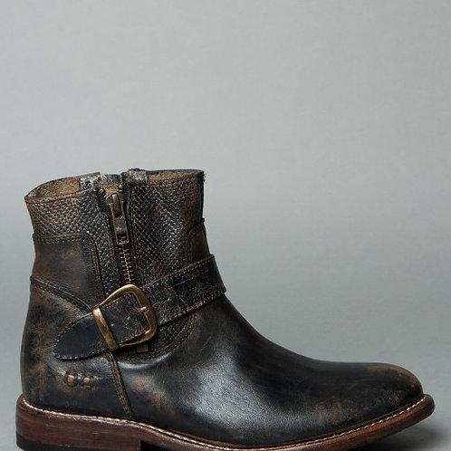 bed|stu Becca Short Boots in Black LUX