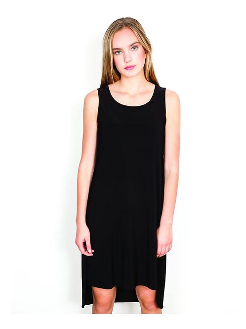 Shannon Passero Mason HiLow Tank Dress in Black