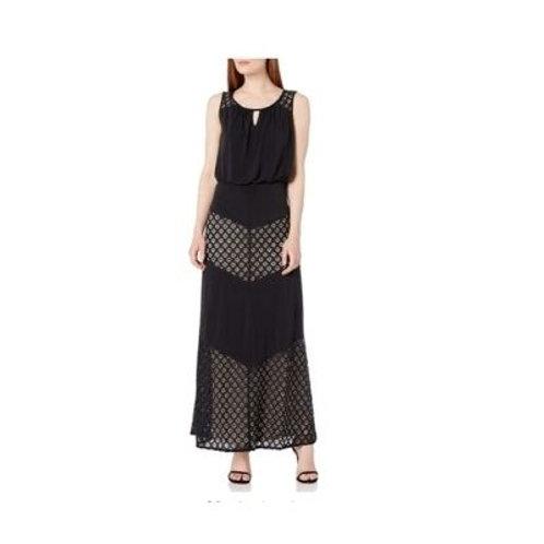London Time Jersey Maxi Dress