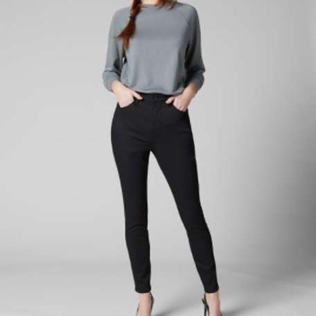 JAG Cecilia High Rise Skinny Jean - Forever Black