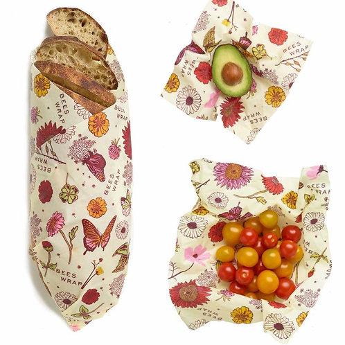 Beeswax Vegan Wrap (Assorted 3 Pack)