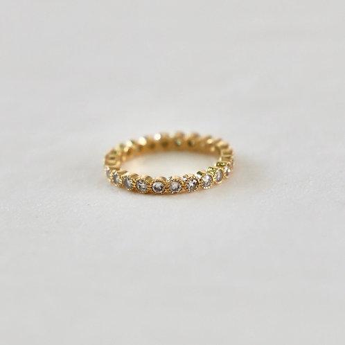Katie Waltman Delicate Clear Cubic Zirconia Ring