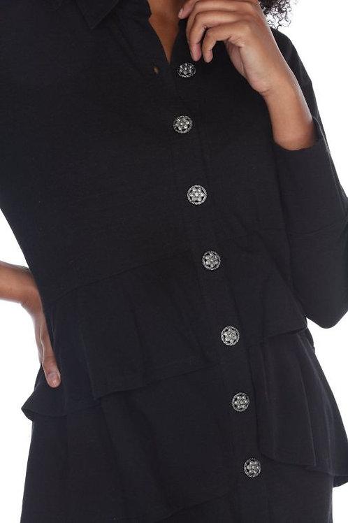 Neon Buddha On-Demand Shirt in Black