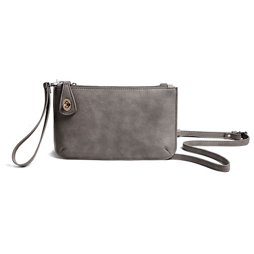 Burano Crossbody in Steel