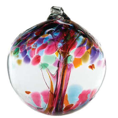 Kitras Art Glass Ornament - Friendship