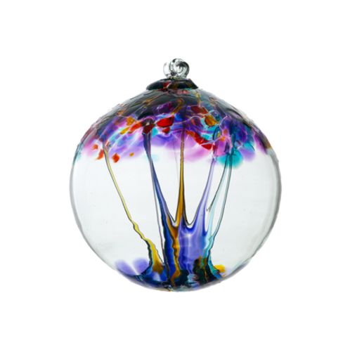 Kitras Art Glass Ornament - Creativity