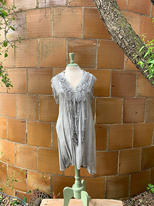 Angela Mara Sleveless Dress/Top
