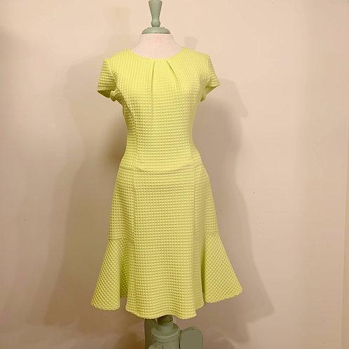 Frank Lyman Green Cap Sleeve Dress