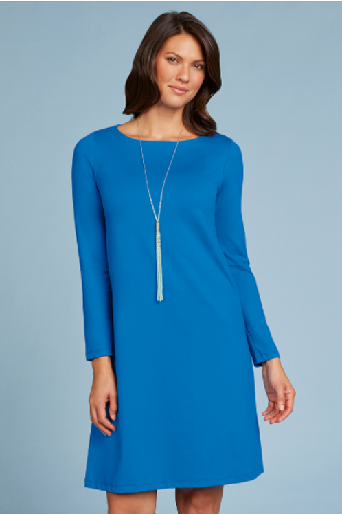 JudyP Donna Long Sleeve Dress