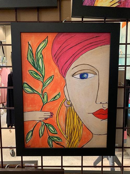 Wendy Barringer Art -Portrait #4