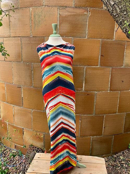 SMASH! Multi Color Maxi Dress