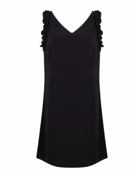 Esqualo Black Dress