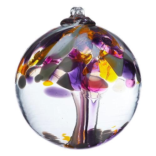 Kitras Art Glass Ornament -Grandparents