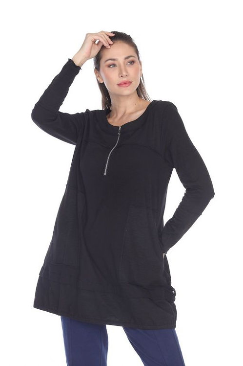Neon Buddha Let It Be Tunic in Black