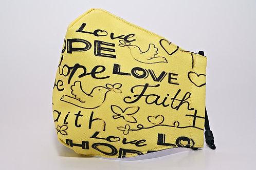 Berek Faith Hope & Love Mask