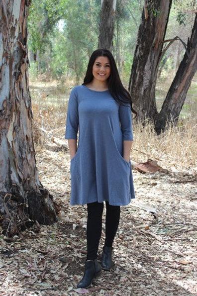 Prairie Cotton 3/4 Sleeve Princess Dress