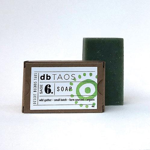 db TAOS ANTI-VIRAL SAGE SOAP | 4oz