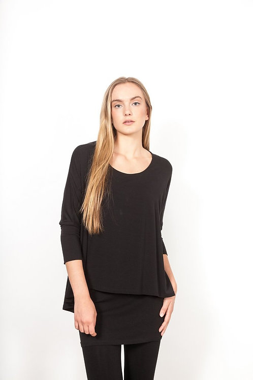 Shannon Passero Ashley Top in Black