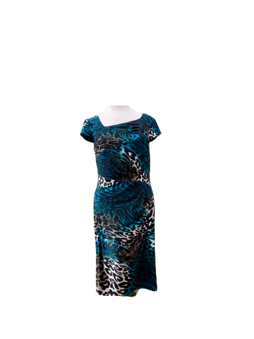 Frank Lyman Patterned Dress