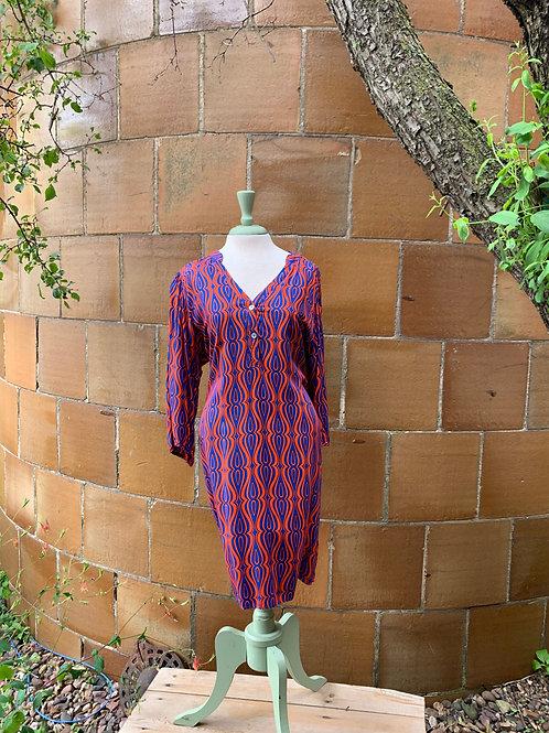 Escapada Congo Print Dress