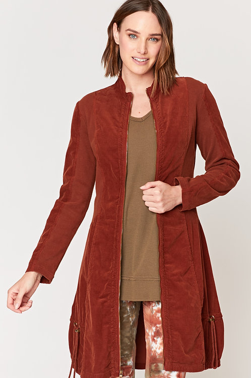 Wearables Cord Winifred Jacket in Nutmeg