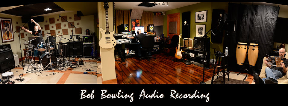 south jersey recording studio, Bob Bowling