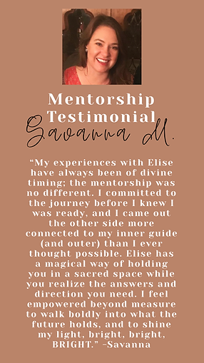 Savanna Testimonial Elise Nicole Kirkpat