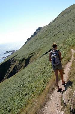 Start Point coast path