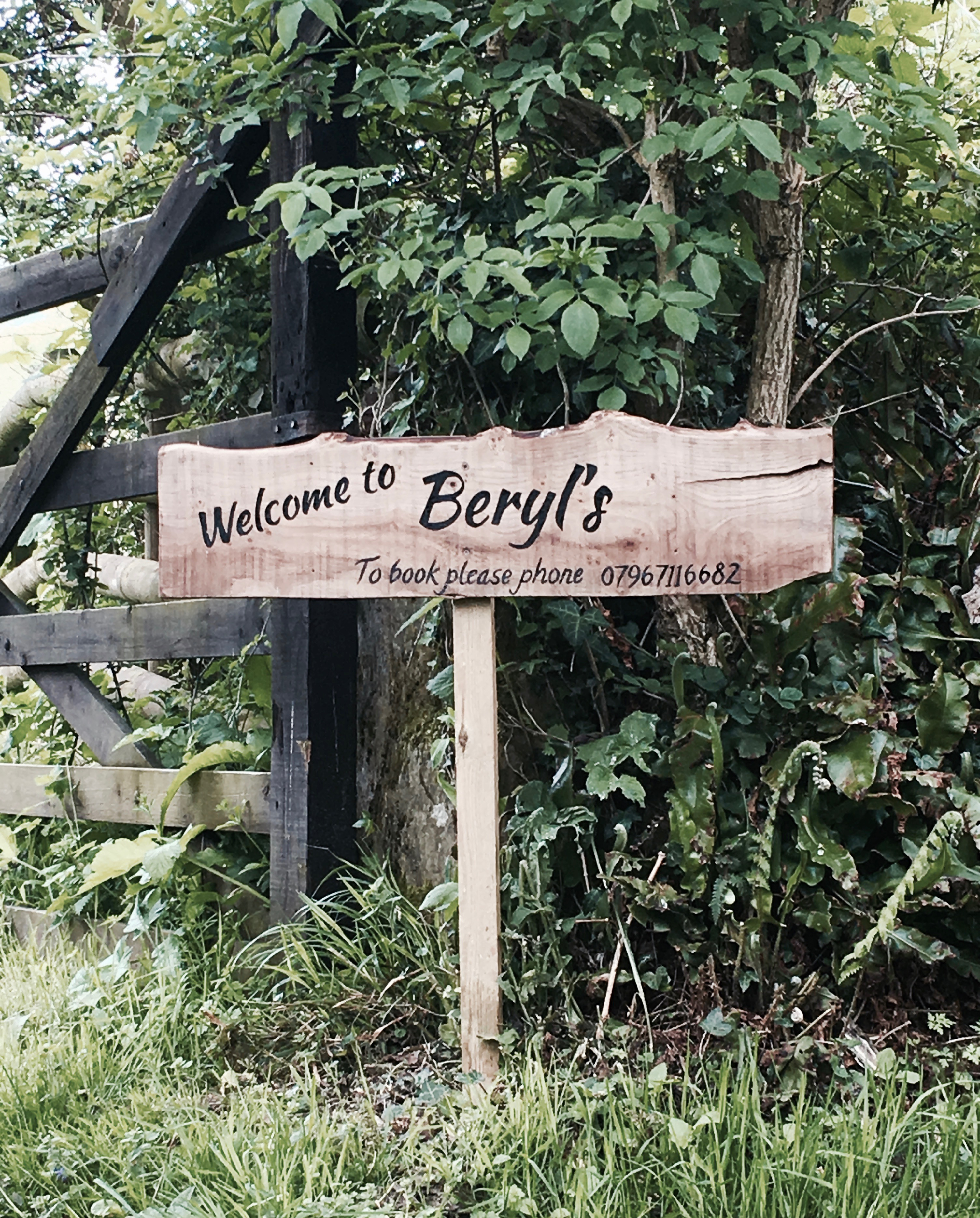 Entrance to Beryls
