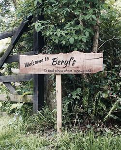 Entrance to Beryls