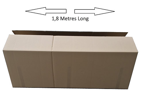 5 x Large Car Parts Cardboard Box 1.8m