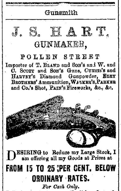 J S Hart Gunmaker