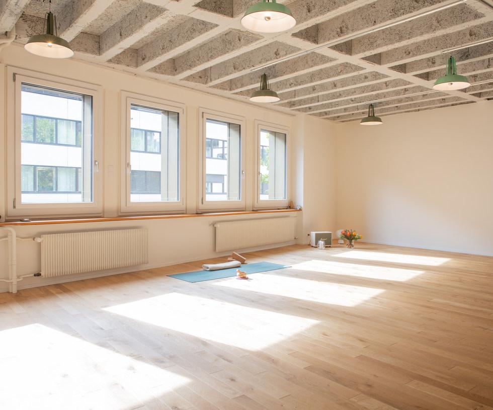 Yoga in Basel _ VOLTA YOGA Basel _ Innen