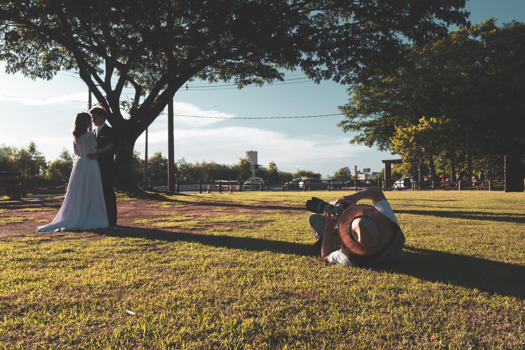 Essa foto teve muita edição, mas foi experimental. Fiz um recorte, correção da luz, aplicação de efeito matte e aplicação de efeito teal and orange. A edição foi toda realizada no Lightroom. Foto: João Vitor Soares