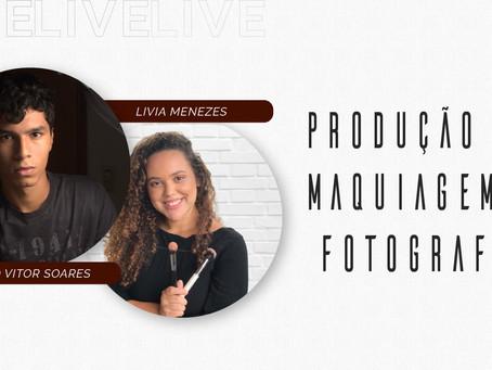 Livia Menezes, nossa parceira maquiadora!