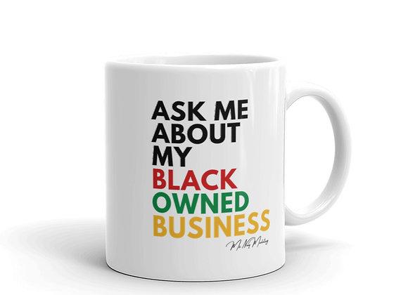 #AMAMBOB White glossy mug